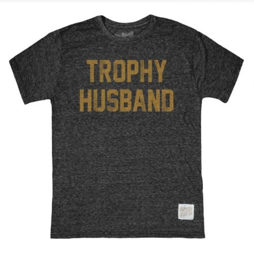 retro-brand-trophy-husband-tri-blend-unisex-tee-sheeky-black Available online or in store at assembly88 men's shop in Allentown, PA