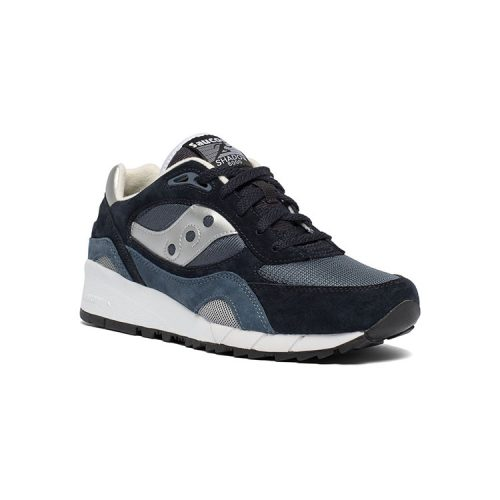saucony-shadow-6000-navy-silver Available online or in store at assembly88 men's shop located in Allentown, PA