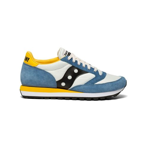 saucony-jazz-81-tan-blue-mens-saucony Available online or in store at assembly88 men's shop located in Allentown, PA