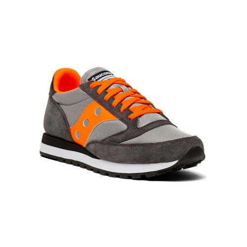 saucony-jazz-81-grey-orange Available online or in store at assembly88 men's shop located in Allentown, PA
