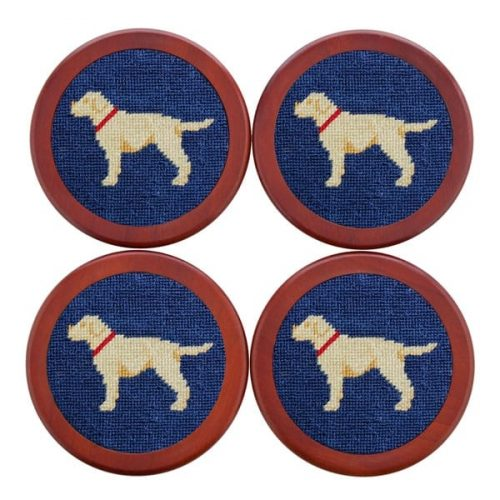 Smathers & Branson Yellow Lab Coaster for sale online and at assembly88 men's store in Allentown, PA.