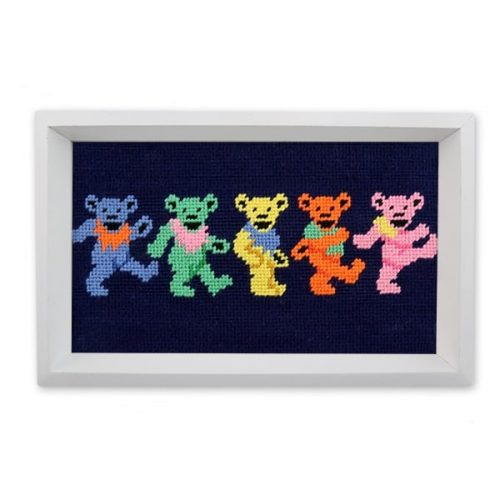 Smathers & Branson Dancing Bears Valet Tray for sale online and at assembly88 men's store in Allentown, PA.