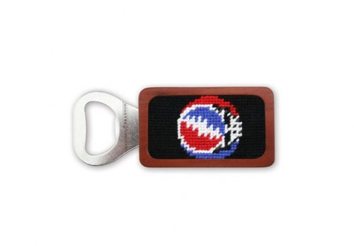 smathers-branson-steal-your-face-black-needlepoint-bottle-opener Available online or in store at assembly88 men's shop in Allentown, PA