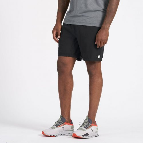 vuori-kore-short-black-men's-athletic-short Available online or in store at assembly88 men's shop in Allentown, PA