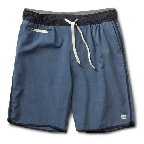 vuori-banks-shorts-azure-linen-texture Available online or in store at assembly88 men's shop in Allentown, PA