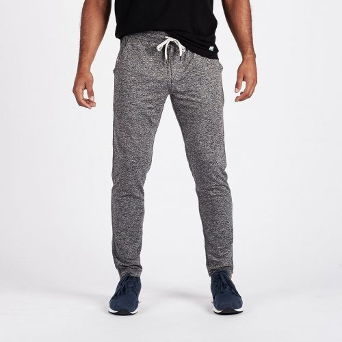 vuori-ponto-performance-pant-heather-grey Available online or in store at assembly88 men's shop in Allentown, PA