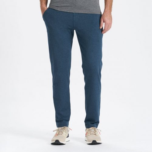 vuori-ponto-performance-pant-indigo-heather Available online or in store at assembly88 men's shop in Allentown, PA