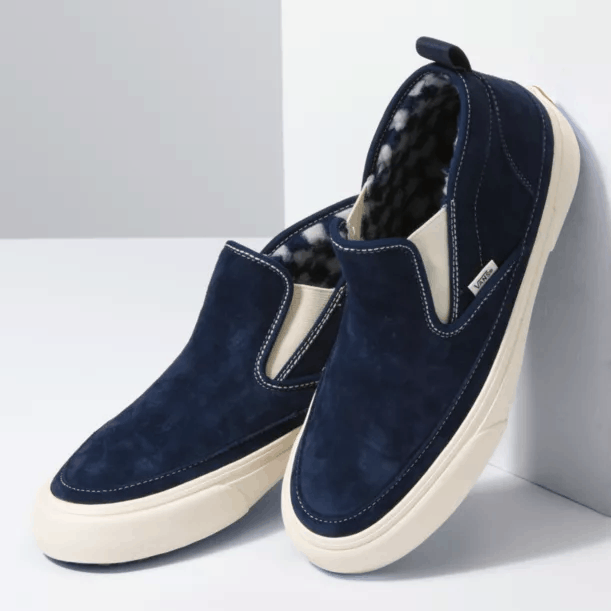 Vans Mid Slip SF MTE Suede Dress Blues/Antique White
