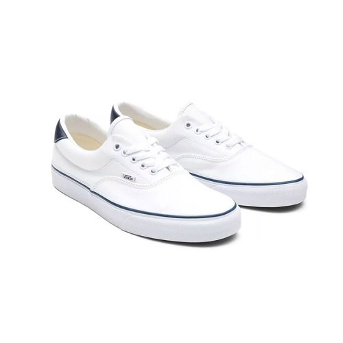 vans-era-59-true-white-navy-men's-casual-shoes Available online or in store at assembly88 men's shop in Allentown, PA