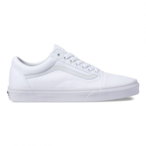 vans-canvas-old-skool-true-white-men's-vans Available online or in store at assembly88 men's shop in Allentown, PA