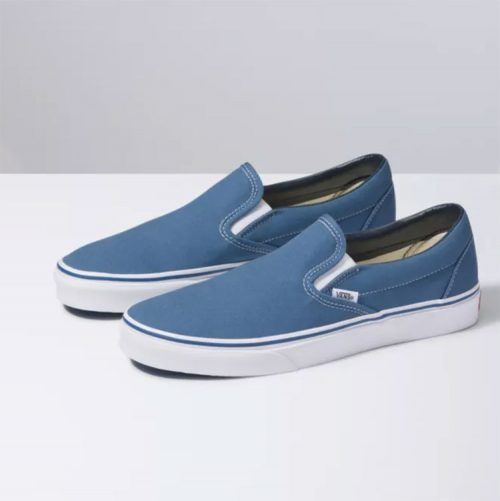 vans-slip-on-navy-men's-casual-shoe Available online or in store at assembly88 men's shop in Allentown, PA
