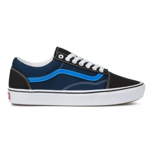 vans-Tri-Tone-Comfycush-Old-Skool-Black-Dress-Blues Available online or in store at assembly88 men's shop in Allentown, PA
