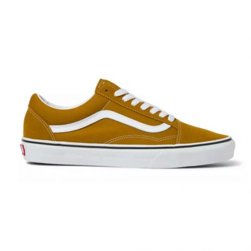 vans-old-skool-golden-brown-true-white Available online or in store at assembly88 men's shop in Allentown, PA
