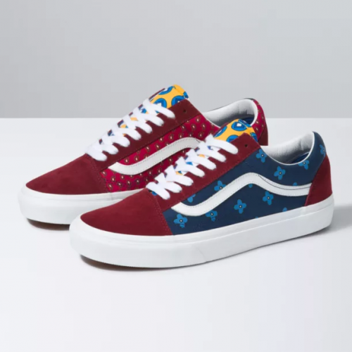 Vans-Tie-Print-Mix-Old-Skool-Port-Royale-Multi Available online or in store at assembly88 men's shop in Allentown, PA