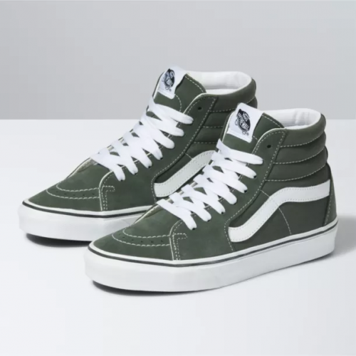 vans-sk8-hi-thyme-true-white Available online or in store at assembly88 men's shop located in Allentown, PA