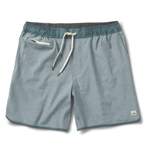 vuori-banks-short-engineered-kelp-stripe Available online or in store at assembly88 men's shop in Allentown, PA