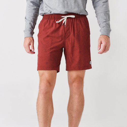 vuori-kore-short-red-clay-light-bright Available online or in store at assembly88 men's shop in Allentown, PA