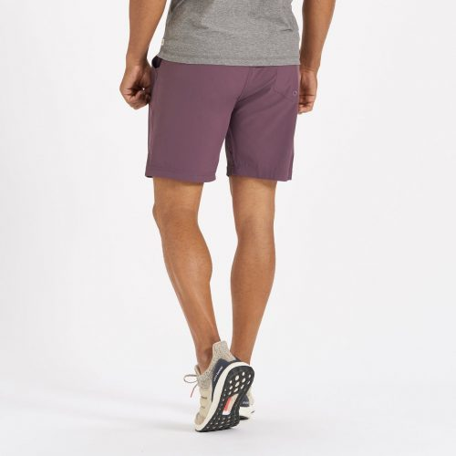 vuori-kore-short-smoked-plum Available online or in store at assembly88 men's shop located in Allentown, PA