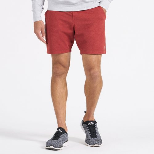 vuori-ponto-short-redwood-heather-men's-short Available online or in store at assembly88 men's shop in Allentown, PA