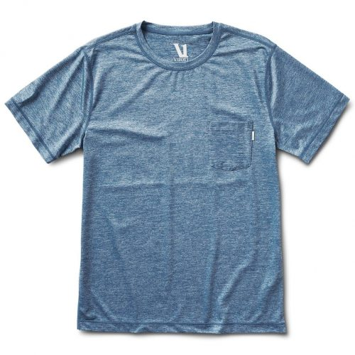 vuori-tradewind-performance-tee-cloud-heather Available online or in store at assembly88 men's shop in Allentown, PA