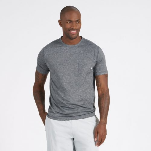 vuori-tradewind-performance-tee-heather-grey Available online or in store assembly88 men's shop in Allentown, PA