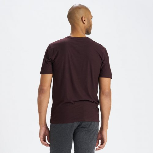 vuori-strato-tech-tee-oxblood-heather Available online or in store at assembly88 men's shop in Allentown, PA
