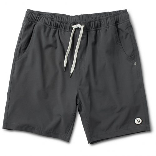 vuori-kore-short-charcoal-men's-shorts Available online or in store at assembly88 men's shop in Allentown, PA