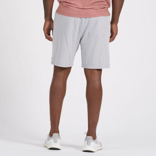 vuori-kore-short-platinum-linen-texture Available online or in store at assembly88 men's shop in Allentown, PA