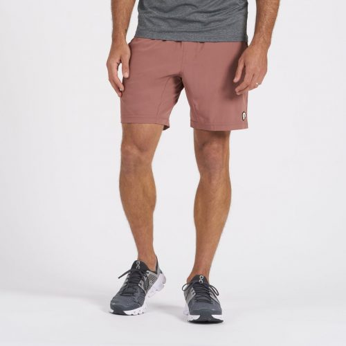 vuori-kore-short-terracotta-mens-vuori-shorts Available online or in store at assembly88 men's shop in Allentown, PA