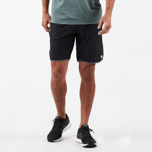 vuori-Banks-Short-Black-Linen-Texture Available online or in store at assembly88 men's shop in Allentown, PA