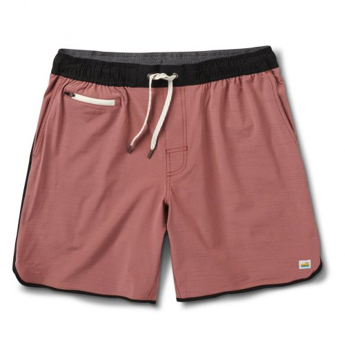 vuori-banks-short-terracotta-slub-stripe available online or in store at assembly88 men's shop in Allentown, PA