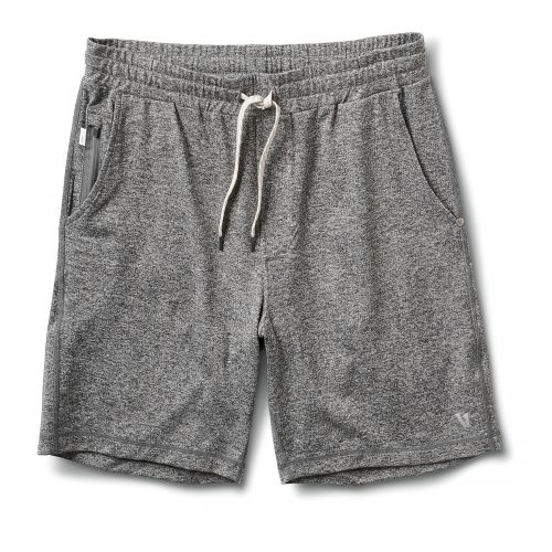 vuori-ponto-short-heather-grey-men's-short Available online or in store at assembly88 men's shop in Allentown, PA