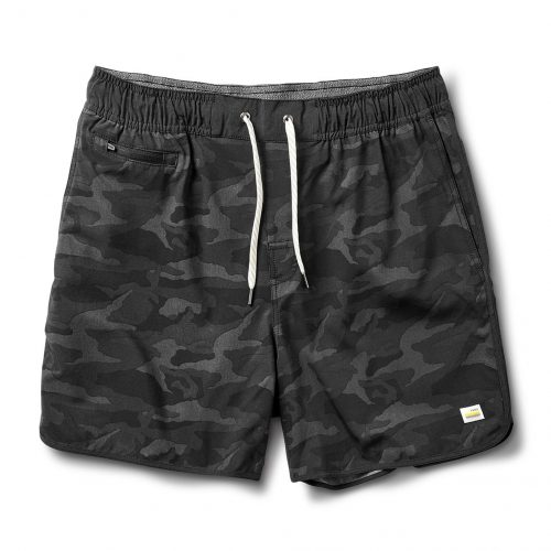 vuori-banks-short-5-black-camo-men's-shorts Available online or in store at assembly88 men's shop in Allentown, PA