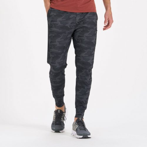 vuori-sunday-performance-jogger-black-camo Available online or in store at assembly88 men's shop in Allentown, PA