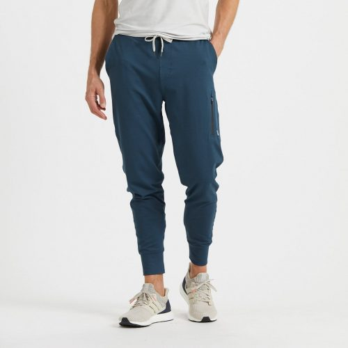 vuori-sunday-performance-jogger-indigo Available online or in store at assembly88 men's shop in Allentown, PA