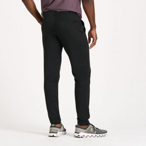 vuori-ponto-performance-pant-black-heather available online or in store at assembly88 in Allentown, PA