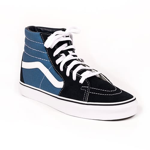 cacd8c27c1b Vans SK8-Hi Navy/Royal-White Assembly 88 Shoes
