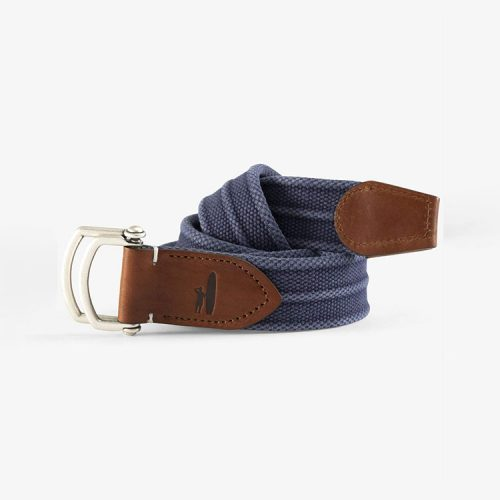 johnnie-o-brentwood-washed-canvas-d-ring-belt-dusk Available online or in store at assembly88 men's shop in Allentown, PA