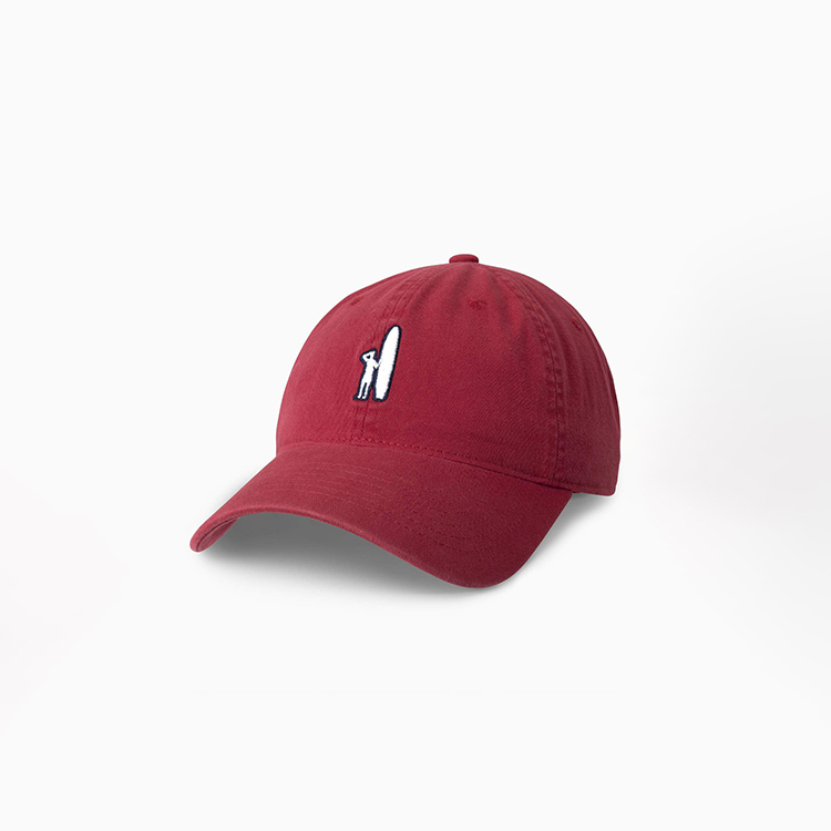 johnnie-o-topper-baseball-hat-malibu-red Available online or in store at assembly88 men's shop in Allentown, PA