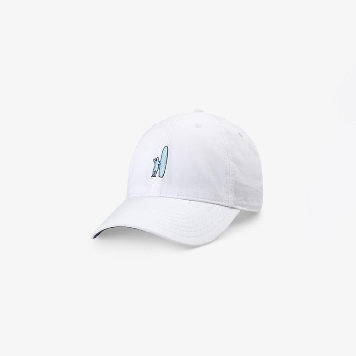 johnnie-o-topper-baseball-hat-white Available online or in store at assembly88 men's shop in Allentown, PA