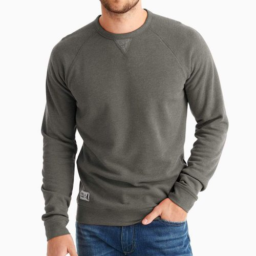 johnnie-o-pamlico-sweatshirt-charcoal Available online or in store at assembly88 men's shop in Allentown, PA