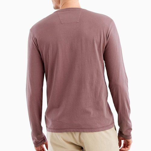 johnnie-o-brennan-long-sleeve-t-shirt-rosewood Available online or in store at assembly88 men's shop in Allentown, PA