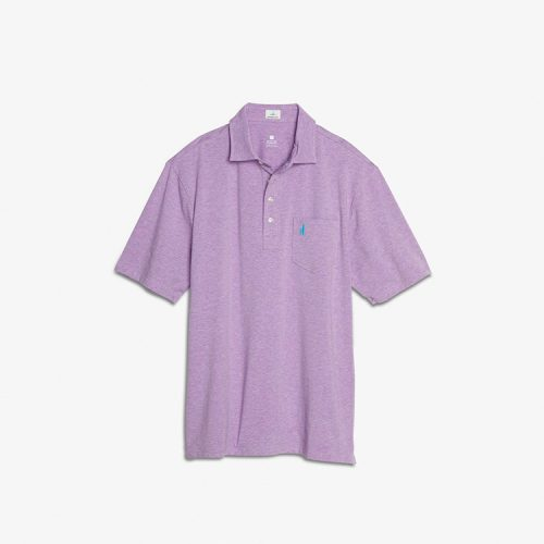 johnnie-o-heathered-original-polo-aster Available online or in store at assembly88 men's shop in Allentown, PA