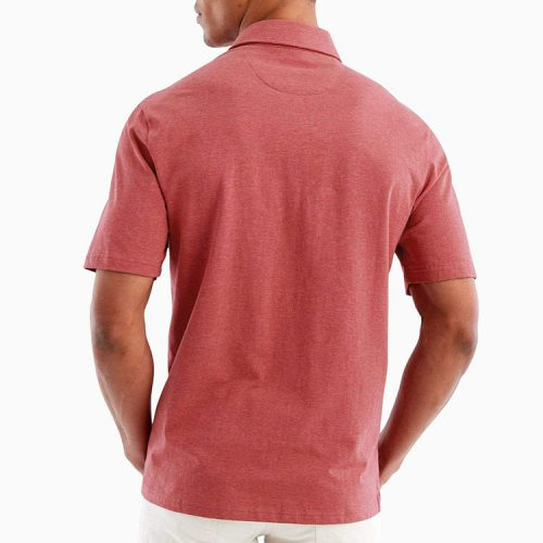 johnnie-o-heathered-original-polo-malibu-red Available online or in store at assembly88 men's shop in Allentown, PA