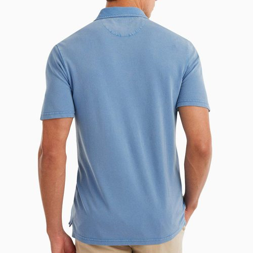 johnnie-o-surfside-garment-dyed-pique-polo-capri Available online or in store at assembly88 men's shop in Allentown, PA