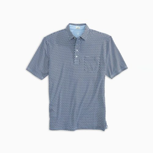 johnnie-o-the-original-4-button-polo-dennis-print-twilight Available online or in store at assembly88 men's shop in Allentown, PA