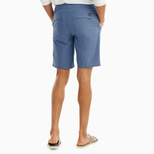 johnnie-o-dawn-2-dusk-hybrid-shorts-laguna-blue Available online or in store at assembly88 men's shop in Allentown, PA