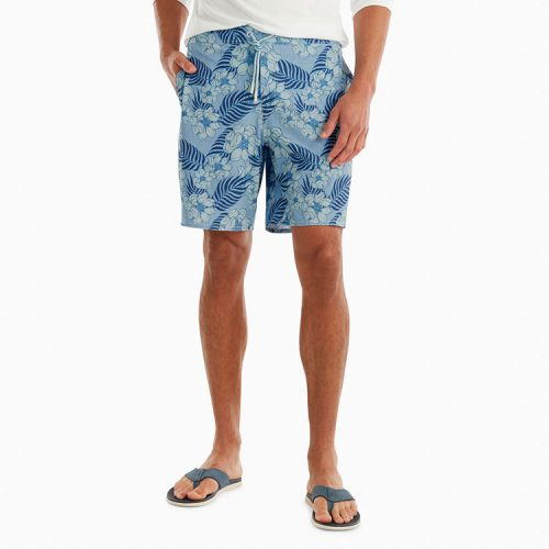 johnnie-o-jaffa-half-elastic-swimtrunk-gulf-blue Available online or in store at assembly88 men's shop in Allentown, PA