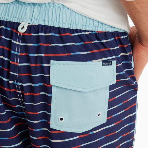 johnnie-o-clairview-half-elastic-swimtrunk-wake Available online or in store at assembly88 men's shop in Allentown, PA