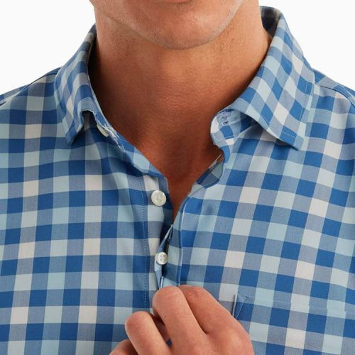 johnnie-o-xavier-prep-formance-button-down-shirt- wake for sale online or at assembly88 men's store in Allentown, PA